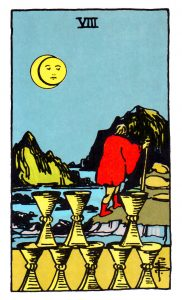 the eight of cups tarot card