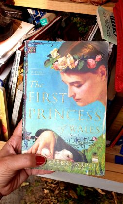 """A book titled """"The First Princess of Wales."""""""