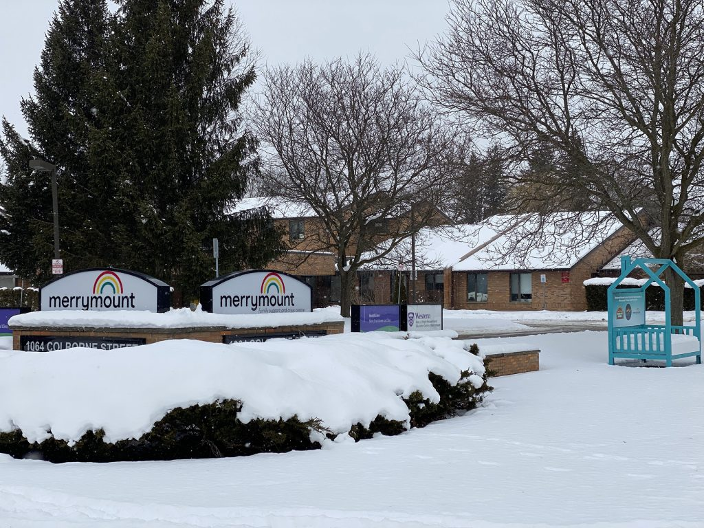 An exterior photo of Merrymount Family Support and Crisis Centre.