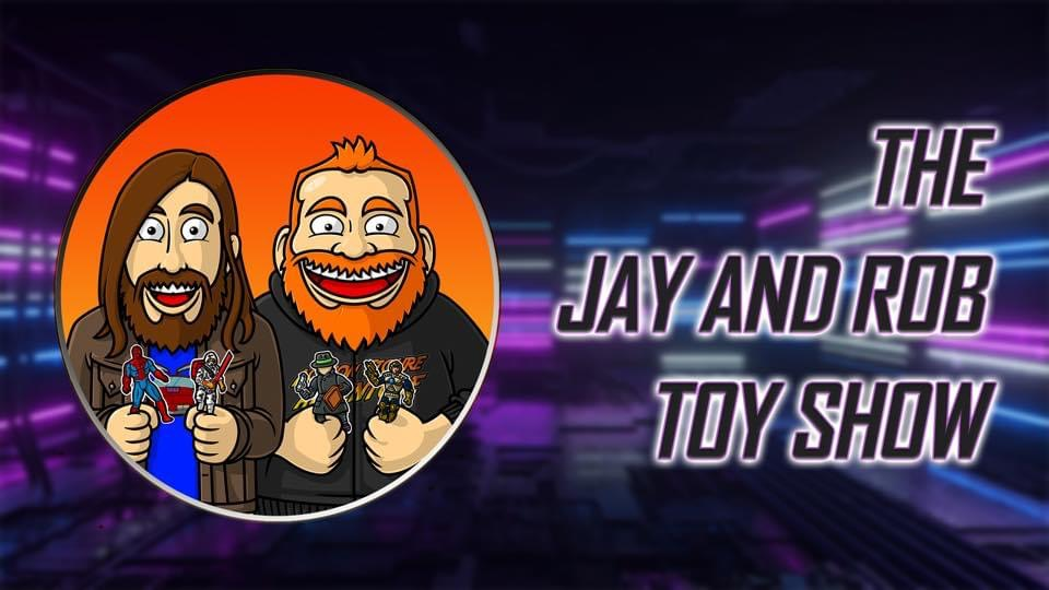 The poster for The Jay and Rob Toy Show.